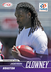 2014 Sage Cardboard Connection Radio Jadeveon Clowney
