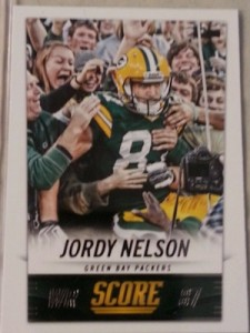 2014 Score Base Variation Jordy Nelson #81