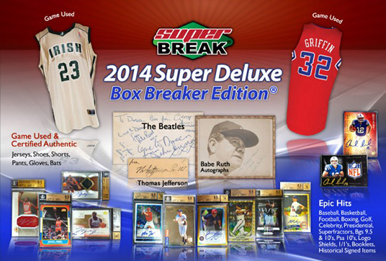 2014 Super Break Super Deluxe Box Breakers Edition 1