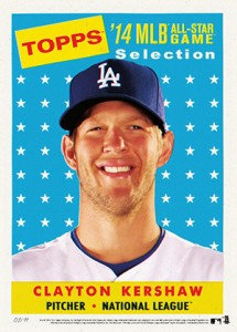 2014 Topps All-Star Game Baseball Prints Clayton Kershaw