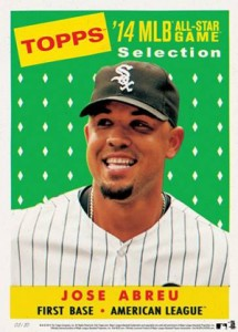 2014 Topps All-Star Game Prints Diamond Jose Abreu