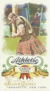 Unannounced 2014 Topps Allen & Ginter Baseball Mini Insert Guide 9