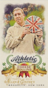 Unannounced 2014 Topps Allen & Ginter Baseball Mini Insert Guide 3