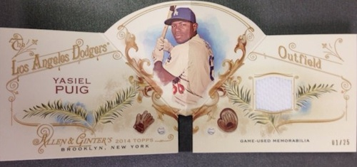 2014 Topps Allen & Ginter Baseball Cards 38