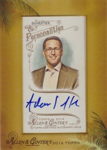2014 Topps Allen & Ginter Non-Baseball Autographs Guide 4
