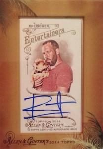 2014 Topps Allen & Ginter Non-Baseball Autographs Bert Kreischer