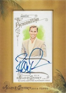 2014 Topps Allen & Ginter Non-Baseball Autographs Bill Rancic
