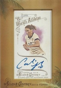 2014 Topps Allen & Ginter Non-Baseball Autographs Guide 9