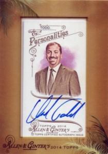 2014 Topps Allen & Ginter Non-Baseball Autographs Chuck Todd