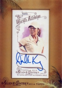 2014 Topps Allen & Ginter Non-Baseball Autographs Guide 12