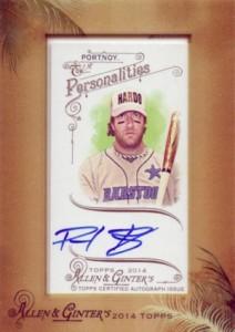 2014 Topps Allen & Ginter Non-Baseball Autographs David Portnoy