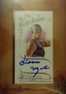2014 Topps Allen & Ginter Non-Baseball Autographs Diana Nyad