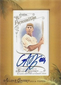 2014 Topps Allen & Ginter Non-Baseball Autographs Gar Ryness
