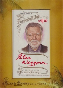 2014 Topps Allen & Ginter Non-Baseball Autographs Guide 21