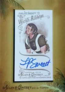 2014 Topps Allen & Ginter Non-Baseball Autographs Laura Phelps Sweatt