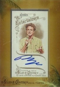 2014 Topps Allen & Ginter Non-Baseball Autographs Guide 32
