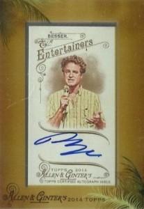 2014 Topps Allen & Ginter Non-Baseball Autographs Matt Besser