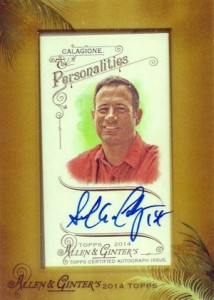 2014 Topps Allen & Ginter Non-Baseball Autographs Guide 38