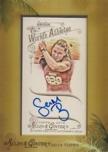 2014 Topps Allen & Ginter Non-Baseball Autographs Samantha Briggs