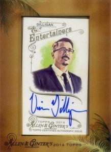 2014 Topps Allen & Ginter Non-Baseball Autographs Vince Gilligan