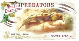 2014 Topps Allen and Ginter Baseball Binder Exclusives Worlds Deadliest Predators