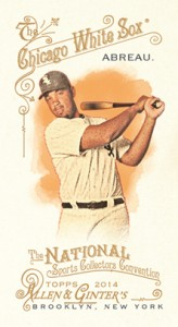 2014 Topps Allen and Ginter National Sports Collectors Convention Jose Abreu copy