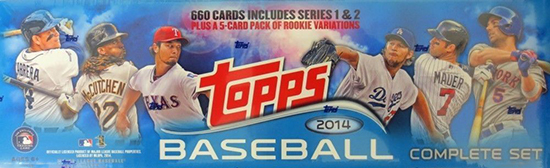 2014 Topps Baseball Retail Factory Set