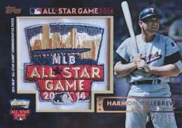2014 Topps FanFest Patch Harmon Killebrew
