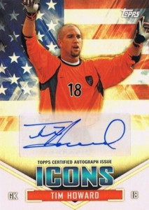 2014 Topps MLS US Icons Autographs Tim Howard #US-TH