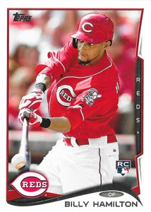 2014 Topps Retail Factory Set Rookie Variations Billy Hamilton