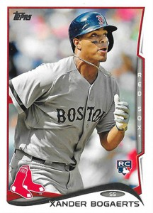 2014 Topps Retail Factory Set Rookie Variations Xander Bogaerts