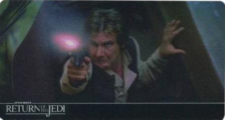 2014 Topps Return of the Jedi 3D Widevision Base