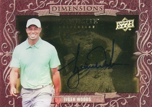 2014 Upper Deck Exquisite Collection Golf Cards 25