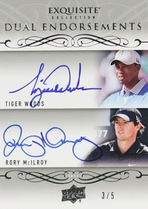 2014 Upper Deck Exquisite Collection Golf Cards 27