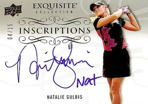 2014 Upper Deck Exquisite Collection Golf Cards 28