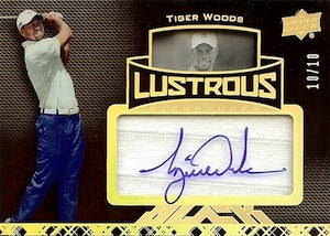 2014 Upper Deck Exquisite Collection Golf Cards 33