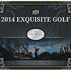 2014 Upper Deck Exquisite Collection Golf Cards