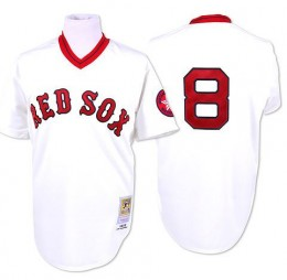 Boston Red Sox Cooperstown Throwback Jersey
