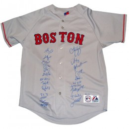 Boston Red Sox Signed Jersey