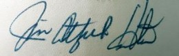 Catfish Hunter Signature Example