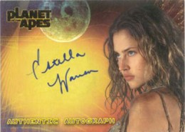 2001 Topps Planet of the Apes Autographs Estella Warren as Daena