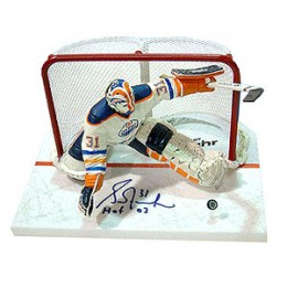Grant Fuhr Signed Figure