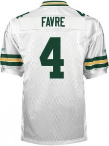 Green Bay Packers Throwback Jersey Reebok Brett Favre