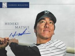 Hideki Matsui Cards, Rookie Cards, Autographed Memorabilia 56