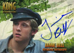 2005 Topps King Kong Autographs Jamie Bell as Jimmy