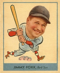 Top 10 Jimmie Foxx Baseball Cards 9