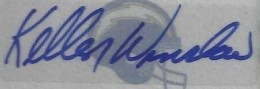 Kellen Winslow Signature Example
