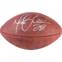 Marshall Faulk Signed Football
