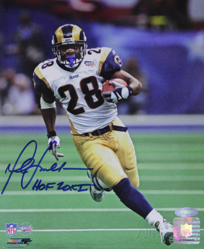 Marshall Faulk Cards And Autographed Memorabilia Guide