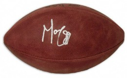 Marvin Harrison Signed Football